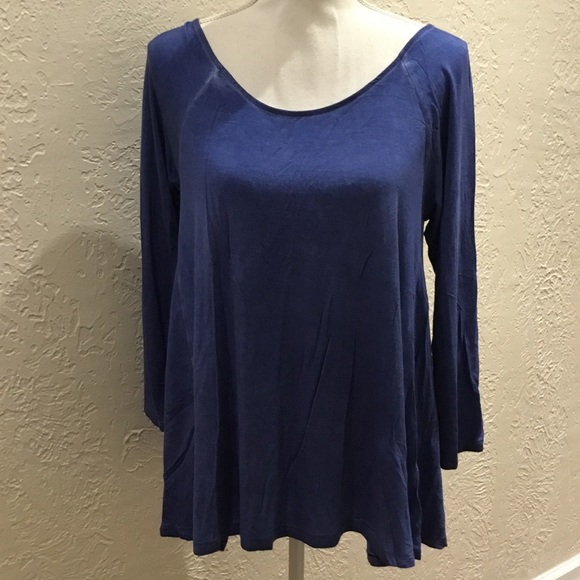 American Eagle Outfitters Tops - American eagle soft and sexy blue top